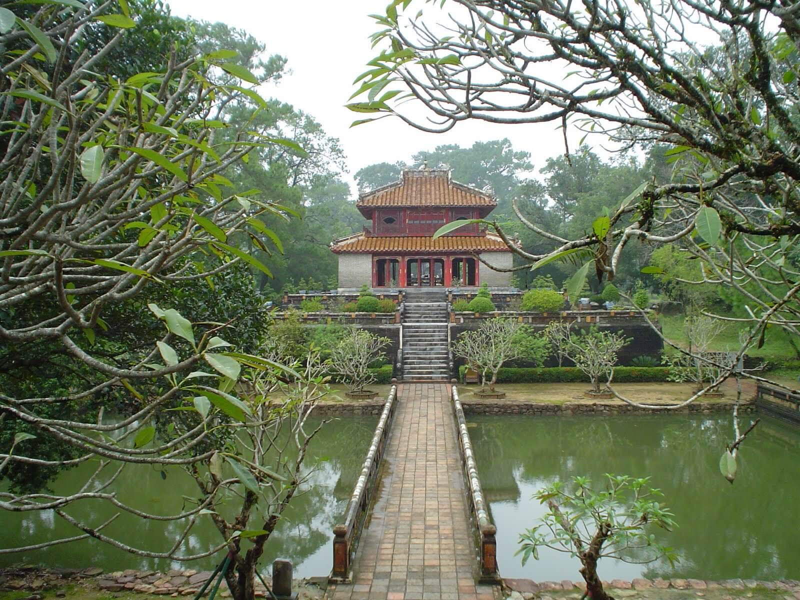 Minh Mang Tomb in Hue