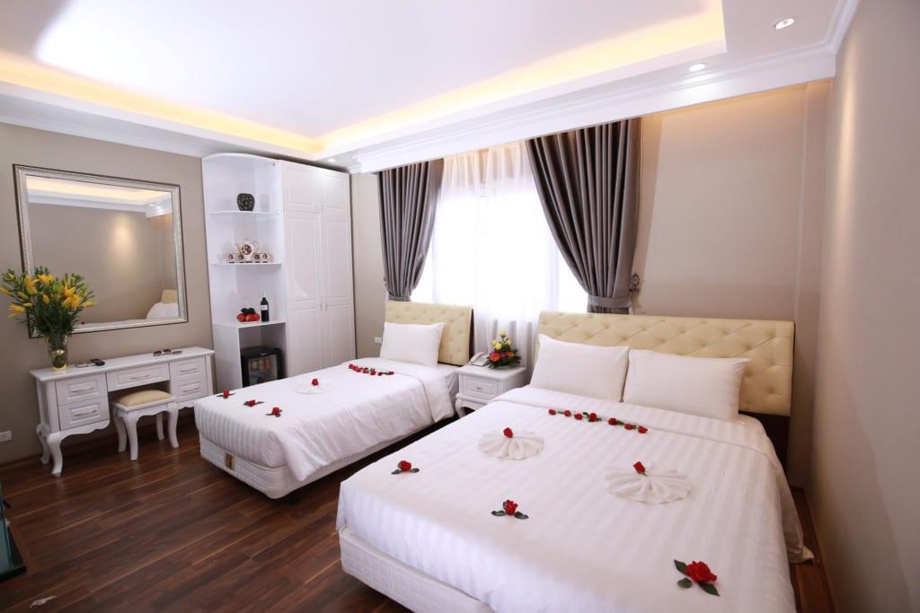 Little Hanoi Deluxe Hotel - best hotels in hanoi quarter