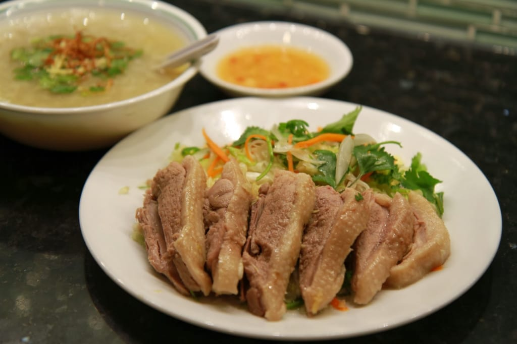 Duck Porridge you must eat in da nang